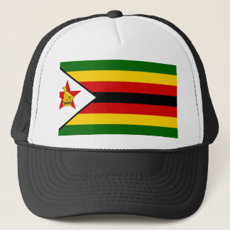 Boné Bandeira nacional do mundo de Zimbabwe
