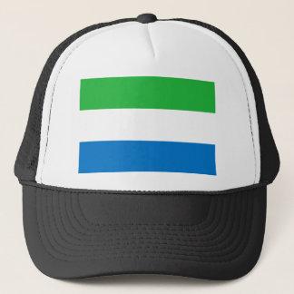 Boné Bandeira nacional do mundo do Sierra Leone