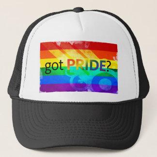 Boné Bandeira obtida do orgulho LGBT