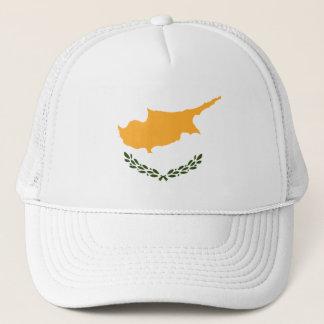 Boné Bandeira patriótica de Chipre