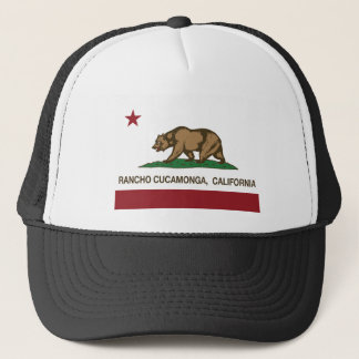 Boné Bandeira Rancho Cucamonga do estado de Califórnia