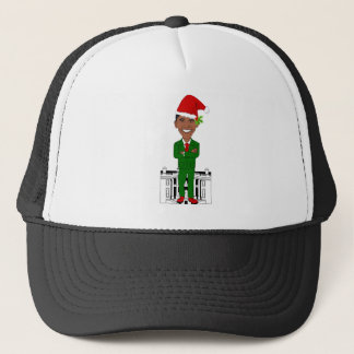 Boné Barack Obama Papai Noel