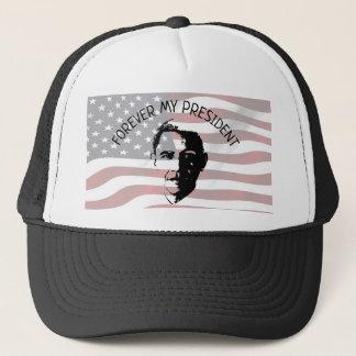 Boné Barack Obama para sempre meu presidente Chapéu