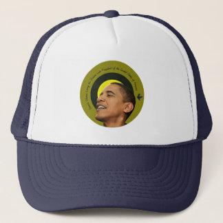 Boné Barack Obama que vive o chapéu ideal do camionista