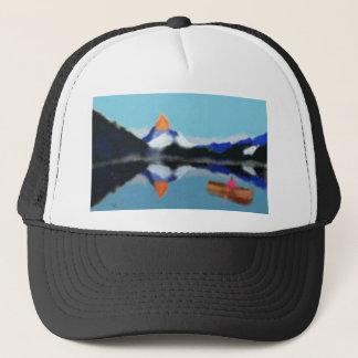 Boné Barco pela arte das montanhas