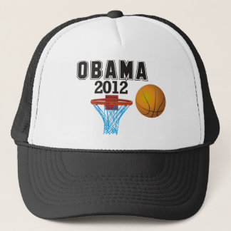 Boné basquetebol 2012 de obama