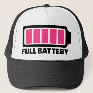 Boné Bateria completa