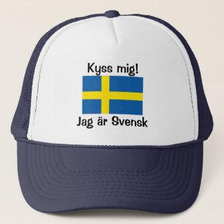Boné Beije-me! Eu sou sueco