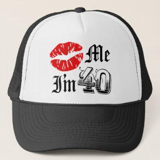 Boné Beije-me que eu sou artigo de 40 novidades