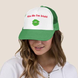 Boné Beije-me que eu sou o dia 4Erin do rissol irlandês