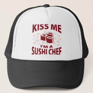 Boné Beije-me que eu sou um cozinheiro chefe de sushi