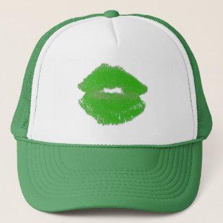 Boné Beijo irlandês verde 4Denis