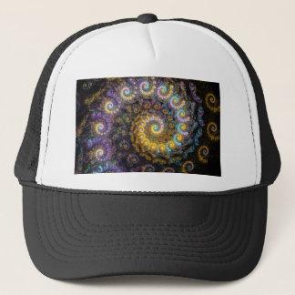 Boné Beleza do fractal do nautilus