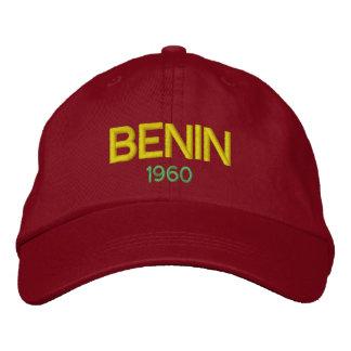 Boné Benin - chapéu bordado clássico de Benin