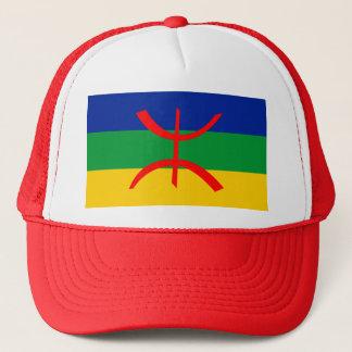 Boné berbere do drapeau