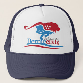 Boné Berniecrats - chapéu do camionista do logotipo