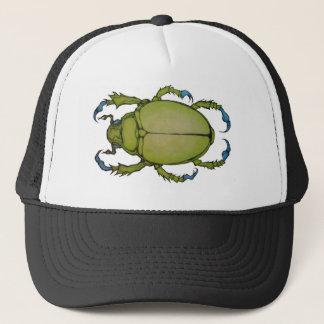 Boné besouro verde