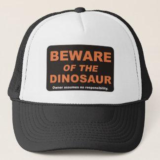 Boné Beware/dinossauro
