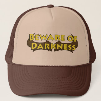 Boné Beware do chapéu do camionista do logotipo do