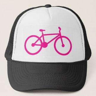 Boné Bicicleta do rosa quente; bicicleta