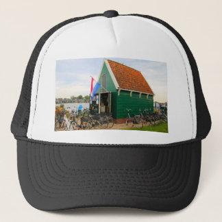 Boné Bicicletas, vila holandesa do moinho de vento,