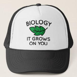 Boné Biologia que cresce em você