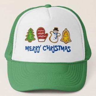 Boné Biscoito do Feliz Natal de Bell do boneco de neve
