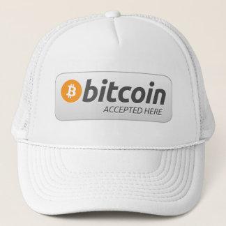 Boné Bitcoin - aceitado aqui