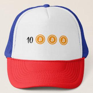 Boné Bitcoin BTC10K - Está aqui! Chapéu