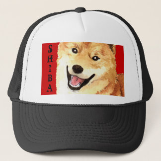 Boné Bloco da cor de Shiba Inu