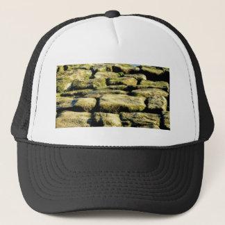 Boné blocos do amarelo de rocha