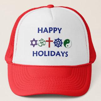 Boné BOAS FESTAS chapéu