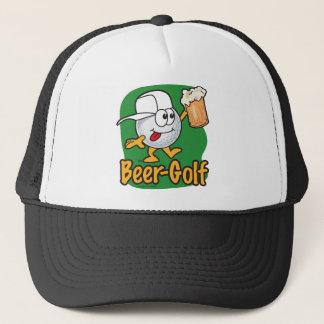 Boné Bola de golfe bêbeda dos desenhos animados do