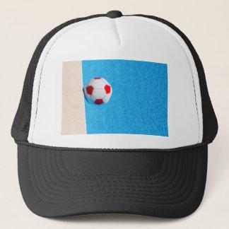 Boné bola de praia Vermelho-branca que flutua na