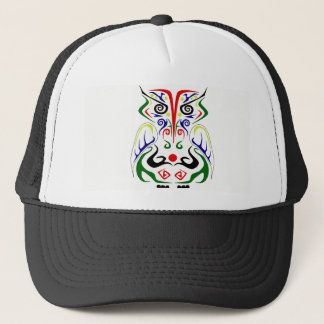 BONÉ BOLA TRIBAL COLORIDA CAP/HAT DO DESIGN DO TATUAGEM