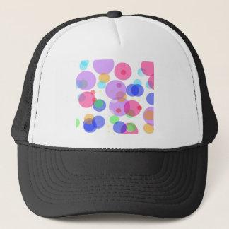 Boné Bolhas coloridas