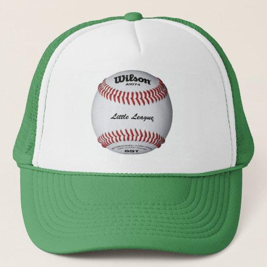 Boné Bombeta com ícone de baseball