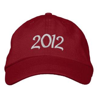Boné bordado 2012