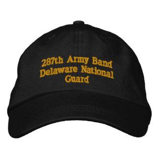 Boné Bordado 287th Banda Delaware do exército