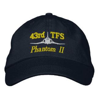 Boné Bordado 43rd Chapéu do golfe de TFS F-4