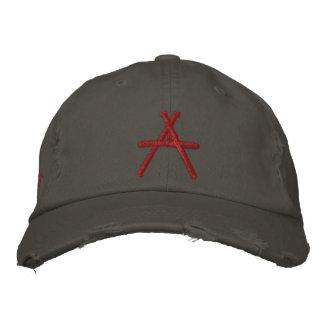 Boné Bordado A para o chapéu ateu