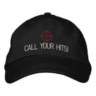 """Boné Bordado Airsoft """"chamada chapéu das suas batidas"""""""