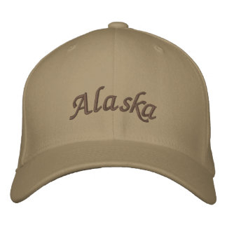 Boné Bordado Alaska bordou o chapéu