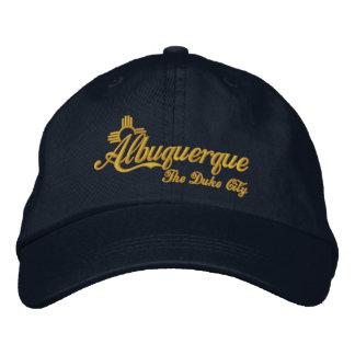 Boné Bordado Albuquerque, duque Cidade