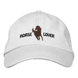 Boné bordado amante do cavalo - estilos diferentes