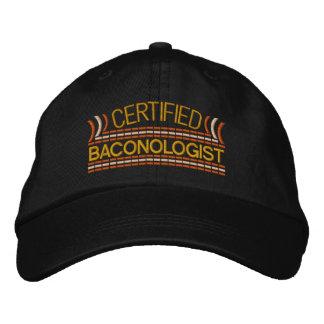 Boné Bordado AMOR Baconologist do bacon certificado