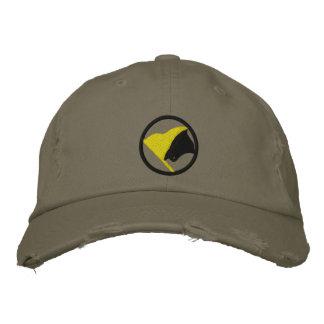 Boné Bordado AnCap bordou o chapéu