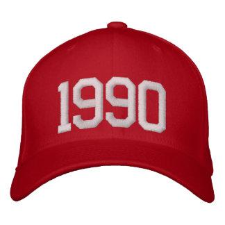 Boné Bordado Ano 1990