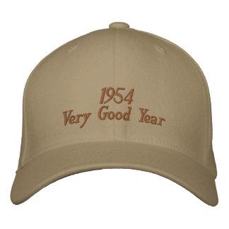 Boné Bordado Ano muito bom chapéu 1954 bordado