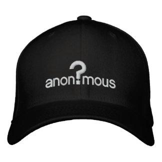 Boné Bordado Anónimo
